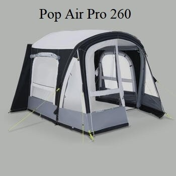 Kampa Pop Air Pro 260 für Puck, (BxT) 260 x 245 cm