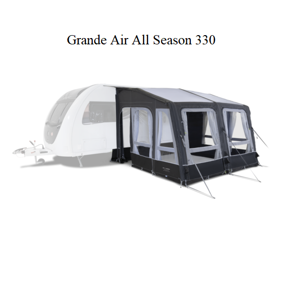 Kampa Grande Air All-Season 330 - (BxT) 330 x 300 cm