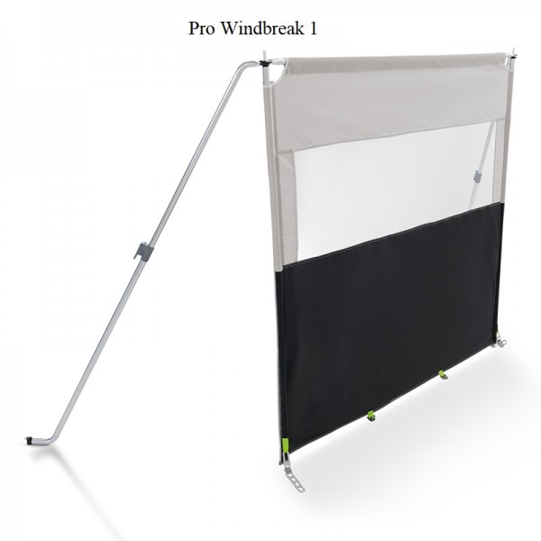 Kampa Pro Windbreak 1, (BxH) 153 x 140 cm